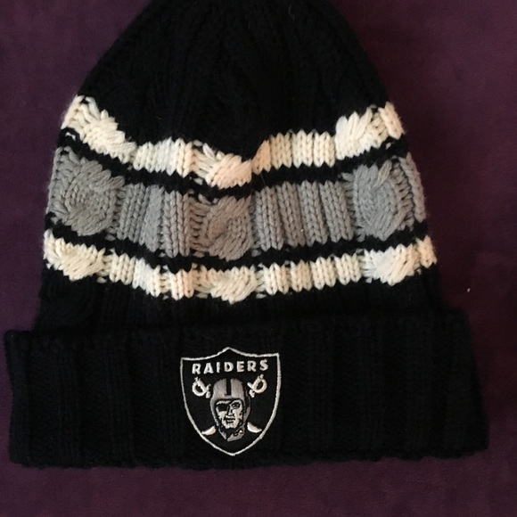 Nfl Accessories Raiders Knit Beanie Poshmark